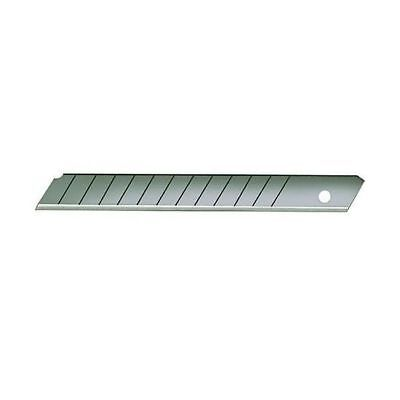 High Carbon Steel 13 Point Snap Off Blades, 9 mm width, Box of 100 (SNB100) 13 Point Snap Blades