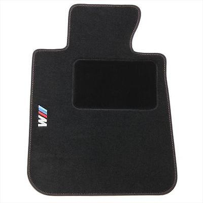 BMW OEM Black Carpet Floor Mats w/Pad 2008-2013 128i 135i 1M Coupes 82112293541