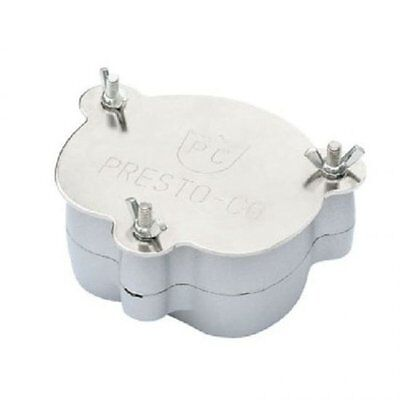 New Dental Flask Compressor Aluminium Denture Parts Lab Equipment Dental