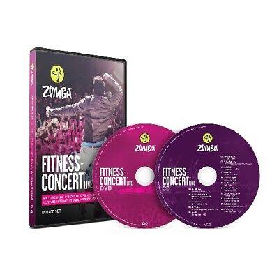 Zumba Fitness live Concert, DVD + CD, Sport, Ausdauer, Musik tanzen, Beto