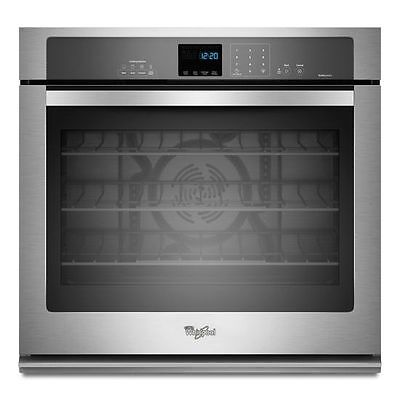 "Whirlpool GOLD WOS92EC0AS Stainless 30"" Convection 5.0 Single Electric Wall Oven"