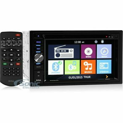 """Boss BV9384NV Double DIN Navigation In-Dash Car Stereo w/ 6.2"""" Touchscreen"""