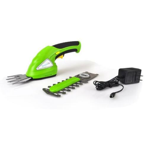 SereneLife PSLHTM20 Cordless Handheld Grass Cutter Shears, Electric Hedge 3.6V