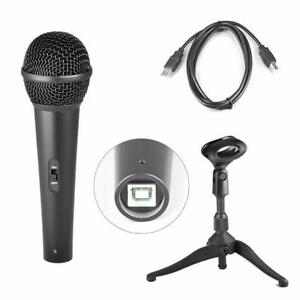 Pyle PDMICUSB6 Dynamic USB Microphone, Studio and Recording Mic