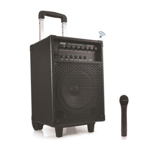 Pyle PWMA230BT - Bluetooth Wireless & Portable PA with Wireless Mic