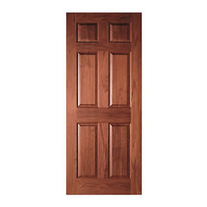 6 panel raised cherry solid core stain grade stile rail interior wood doors ebay Solid wood six panel interior doors