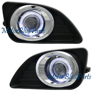 10-11 CAMRY LE XLE HALO PROJECTOR FOG LAMPS DRIVING LIGHTS KIT