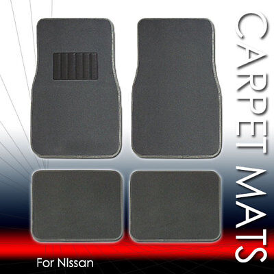 For Nissan New 4 PC Car Truck SUV Carpet Floor Mats Set with Driver Heel Pad  (2009 Nissan Maxima Car And Driver)