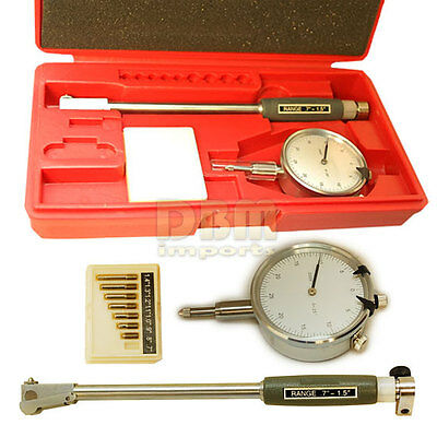 Dial Bore Gage Gauge 0.7 - 1.5 Engine Cylinder Indicator Precision Grad .0005