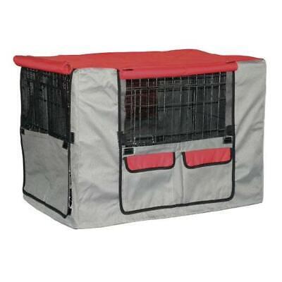 Funda para jaula metalica plegable protectora para perros grande 93x58x66 cm