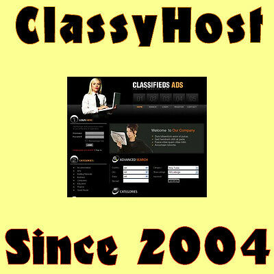 Money Making Business. Online Work At Home Classifieds Ads Website For Sale.