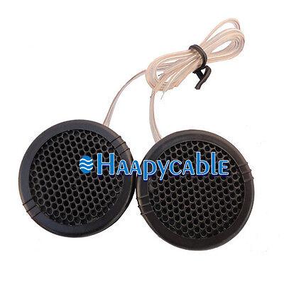 New 1 Pair 2 Way Car 500W Speaker Audio Super Power Loud Dome Tweeter Speakers ()