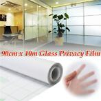 90cm 10M Frosted Window Tint Glass Privacy PVC Film For D...