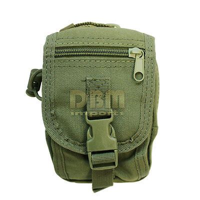 OD GREEN Tactical Gadget Utility Pouch Cell Phone Camera PALS Small Tool Bag