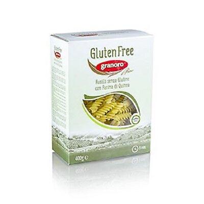Granoro Fusilli, mit Quinoa, glutenfrei, 4,8 kg, 12 x 400g
