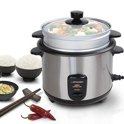 Reiskocher Dampfgarer Multikocher Reis Kochtopf Schnellkochtopf elektrisch 1,5 L
