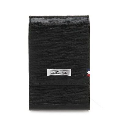 Dupont  Men/'s DEFI Leather Wallet Black CI170401Z New100/% Authentic S.T