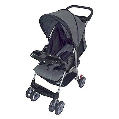 Amoroso 22209 AmorosO Convenient Baby Stroller- Black NEW