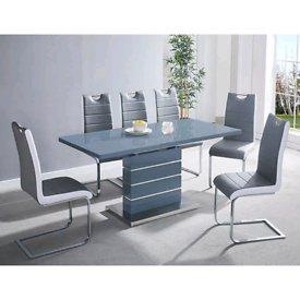 🔵✨🔵EXCLUSIVE OFFER CLASSY TUSCANY TABLE AND LORENZO CHAIRS 🔵✨🔵
