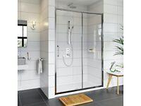 1200mm Sliding Shower Door - Brand New