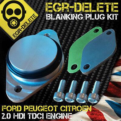 VOLVO C30 S40 S80 V50 V70 EGR blanking plate kit 2.0 16V 136 EGR pipe removal