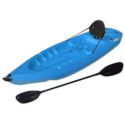 Sit-On-Top Kayaks - Blue Lotus Adult Kayak - 8 ft. 90112 w/ Paddle and Back