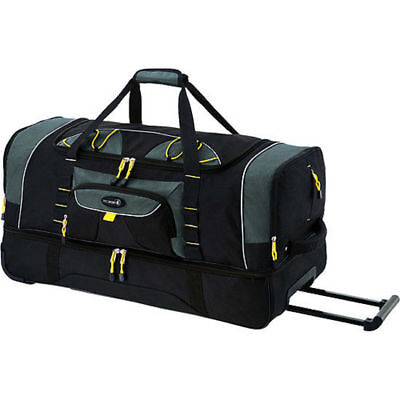 Soccer Duffel Bag With Wheels Large Wheeled Rolling For Men Heavy Duty Kids