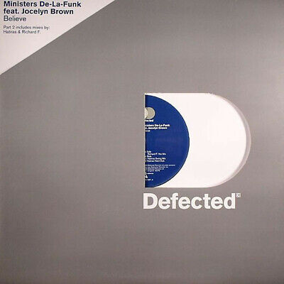 """Ministers De-La-Funk Feat. Jocelyn Brown - Believe (Part 2) (12"""")"""