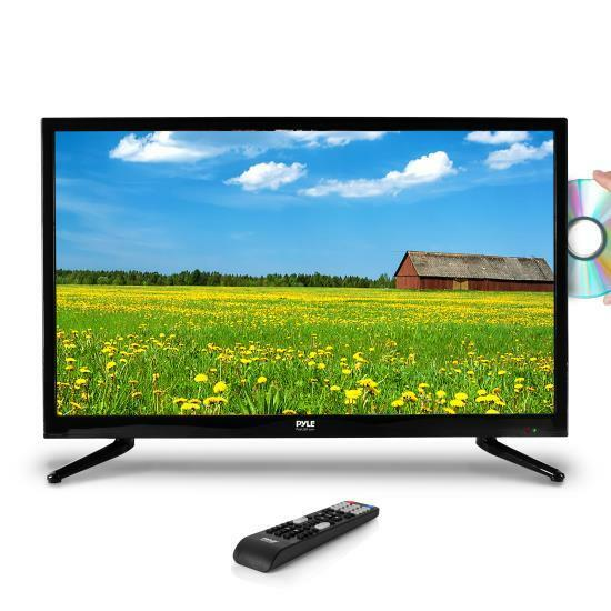 "Pyle PTVDLED40 40"" LED TV - HD Flat Screen TV with Built-in DVD Player"