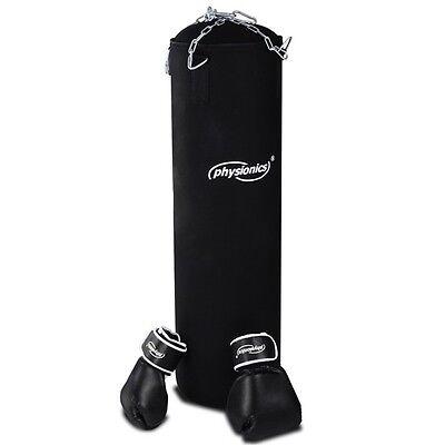 Boxsack Boxhandschuhe Box-Set Sandsack gefüllt Boxen Handschuh Fitnessboxen