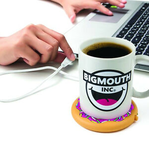 Brand New USB  Doughnut Shaped Coffee Mug Warmer