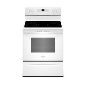 Whirlpool YWFE510S0HW 5.3 cu. ft. Freestanding Electric Range on sale (BD-2165)