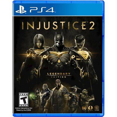 Sony PlayStation 4 Injustice 2: Legendary Edition video game New Sealed PS4