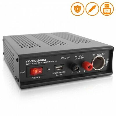 Pyramid Psv90 Desktop Bench Power Supply Ac-to-dc Power Converter 9 Amp