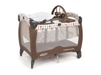 Quality Graco Contour Electra Travel Cot £147 in mothercare & spare mattress