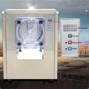110V Table Top Commercial Hard Ice Cream Machine 1Flavor Frozen Machine 210033