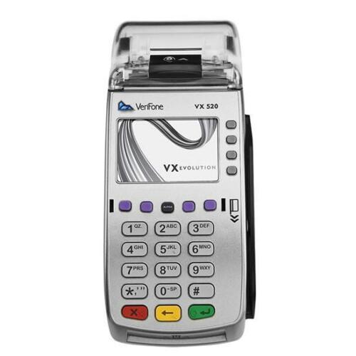 Verifone VX520 Credit Card Machine with Smart Card Reader