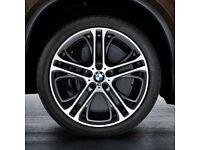 BMW X5 GENUINE M PERFORMANCE ALLOYS AND TYRE SET