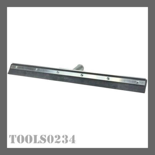 "Weiler 45506 18"" Floor Squeegee - Straight - Metal Frame - Heavy-Duty Rubber"
