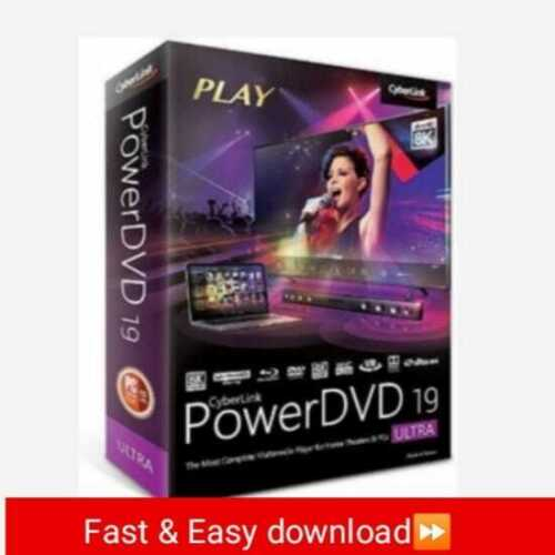 Cyberlink PowerDVD Ultra19 Full version lifetime activeted key fast download