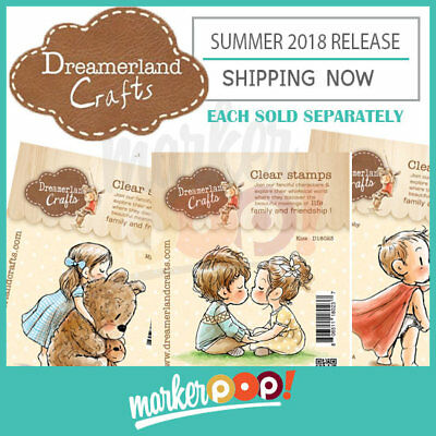 Dreamerland Crafts Summer 2018 Single Clear Stamp Collection](Summer Crafts)