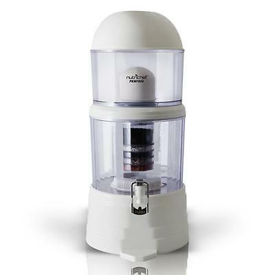 New NutriChef PKWFD04 Countertop Water Filter & Dispenser (4-Gallon), BPA Free