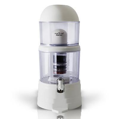New NutriChef PKWFD04 Countertop Water Filter & Dispenser (4-Gallon), BPA Free