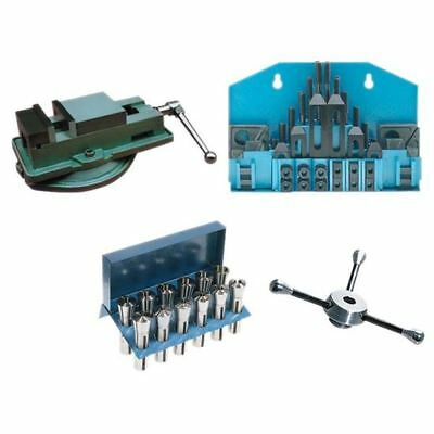 65 Pc. R8 Milling Tooling Package-vise Clamping Kit R8 Collet Set Bridgeport
