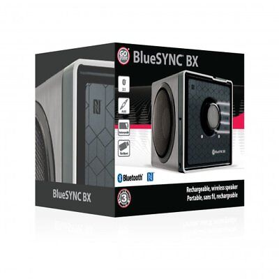GOgroove SonaVERSE BX Portable Stereo Speaker with NFC Pairing - Silver