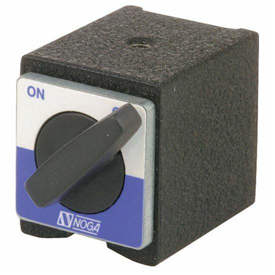 Noga NF0037 Magnetic Holder 72 lb. Holding Power w/ 5mm Thread Dial, Test Ind.