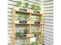 HERB GARDEN / SMALL FLOWER PLANTERS
