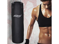 30kg Punch Bag with wall hanger and gloves
