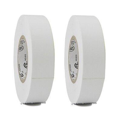 2 Rolls White Vinyl Pvc Electrical Tape 34 X 66 Flame Retardant Free Shipping