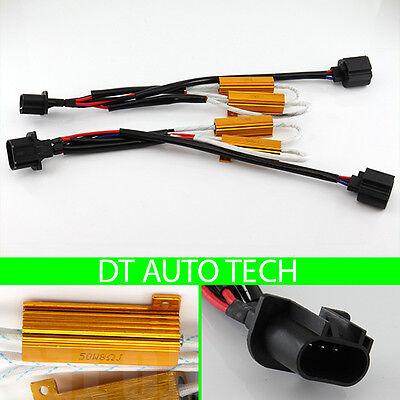 Light Resistor (H13 LED DRL Fog Light Canbus 50W 6Ohm Load Resistor Wiring Canceller Decoder )
